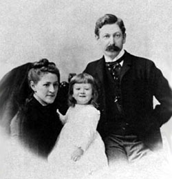 Susan, Howard und Winfield Lovecraft (ca. 1891)